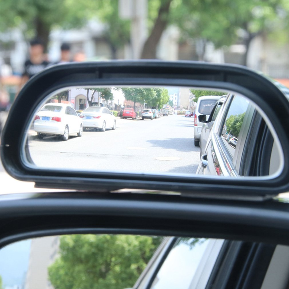 1 Pcs Mini Rearview Assitant Wide Angle Trapezoid Blind Spot Side Rear View Mirror