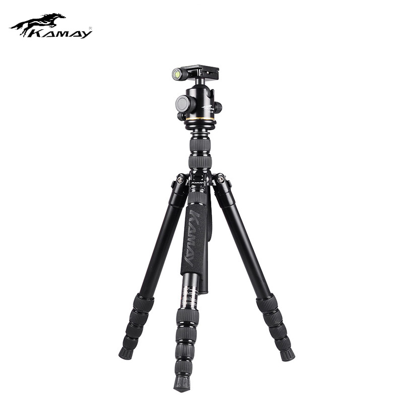 Tripod Kamay H2 SLR Camera Tripods for Canon Nikon Portable Travel Tripod Photography Camera Bracket Tripods sirui new r2004 g20kx tripod head photography set aluminum professional tripod for canon nikon sony slr portable stable bracket