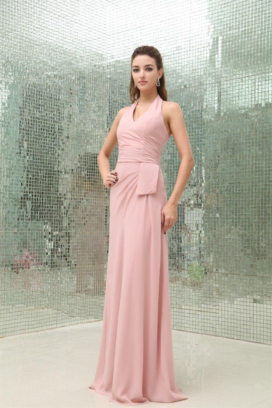 Bonito Vestidos De Dama Corto Blush Composición - Colección de ...