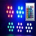 7x12 w rgbw 4in1 led plana par luz de controle remoto sem fio/& wireless dmx led estágio alimentado led plana par luz clube