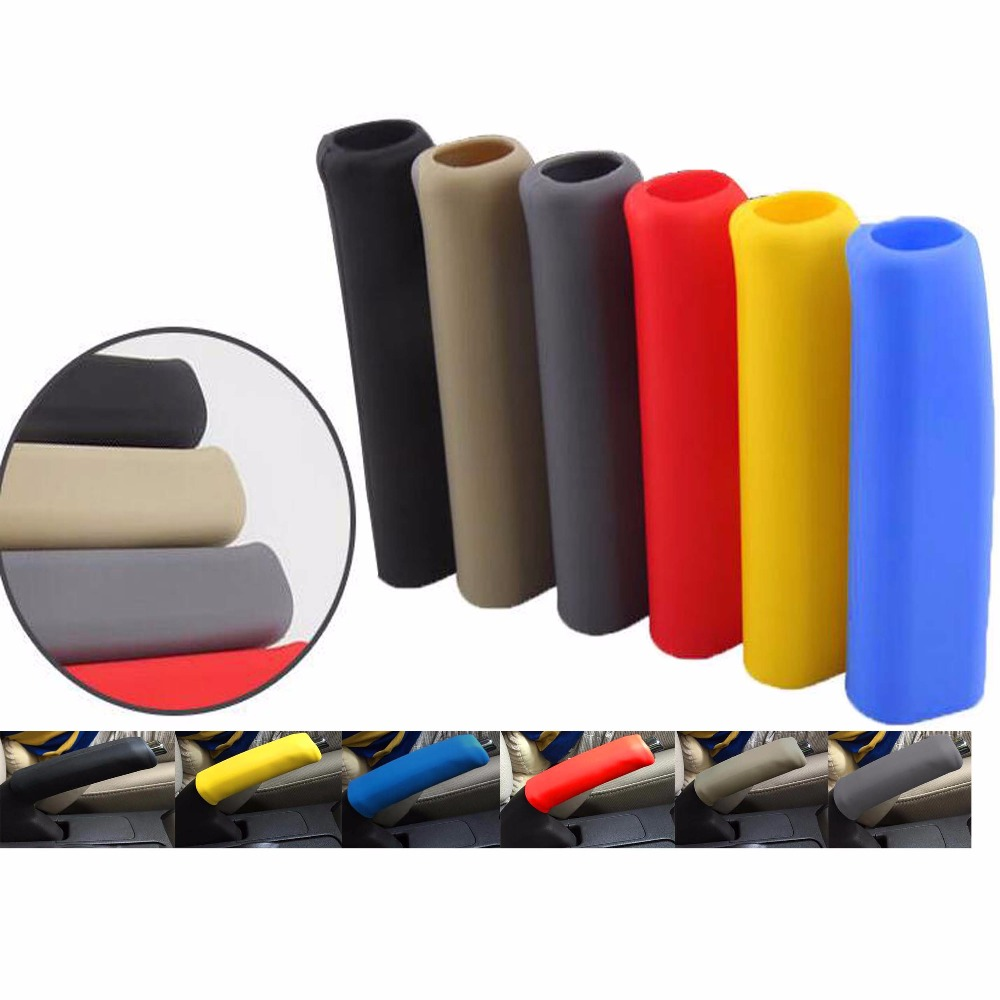 Silicone Car Interior Handbrake Parking Hand Brake Handle Lever Cover Anti Slip universal car styling handbrake sleeve silicone gel cover anti slip multicolored parking hand brake sleeve car accessory