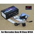 Laser carro luz de Nevoeiro Traseira Para Mercedes Benz W164 ML Classe M 2005 ~ 2011/LED Externo de Automóveis para Anti-Colisão Rear-end