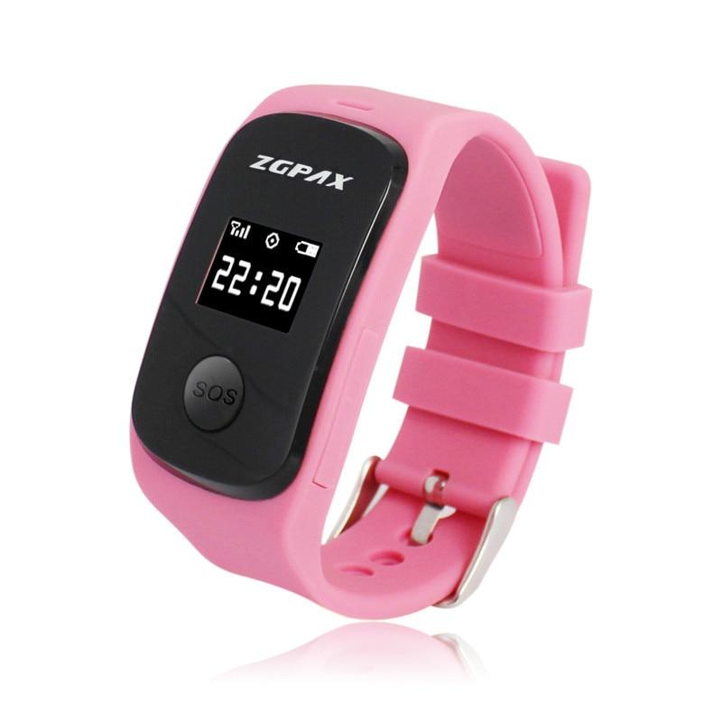 ZGPAX S22 SOS GPS LBS PC SMS Tracking font b Smart b font Watch Smartwatch Children