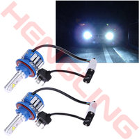 2x H1 H3 H4 H7 H8 9007 9008 H13 Car Led Headlight Conversion Kit Light Canbus