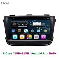 Lenvio 8 IPS RAM 2GB 32GB Android 7 1 CAR GPS Navigation For KIA Sorento 2013
