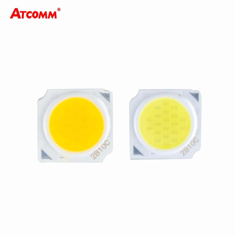 3W 5W 7W 10W LED Matrix Diode Array 9-34V Integrated COB LED Light Projector Searchlight Floodlight Source 9V 12V 24V 30V