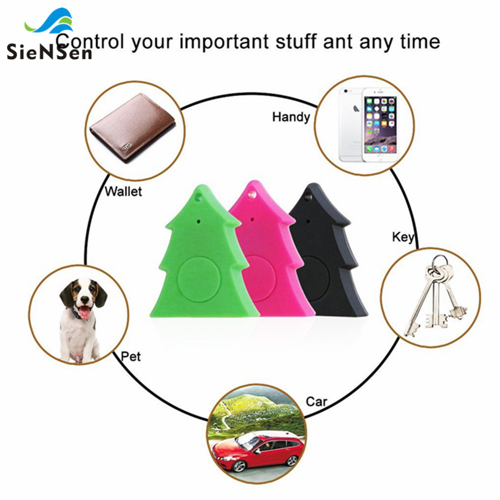 Siensen Hot Smart Mini Waterproof Bluetooth Tracer Gps Tracker For Pet Dog Cat Keys Wallet Bag And Kids Easy To Use