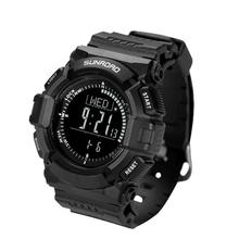 Sale SUNROAD FR823R  Watches Men Outdoor Sports EL Backlit Digital Watch Waterproof Compass Pedometer Barometer Thermometer Timer
