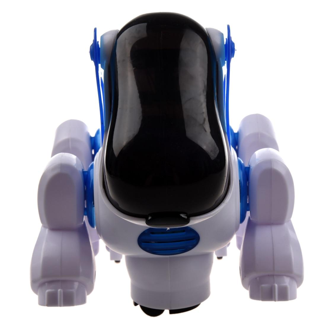 MACH Robotic Interactive Pet Dog Walking Bump Go Puppy Kids Toy Children
