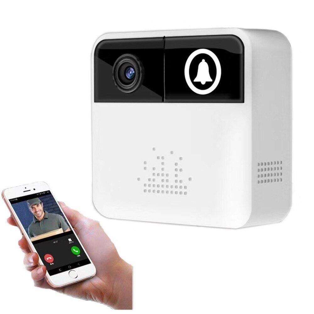 Pengbo 1MP 720p Video Doorphone Doorbell Voice Call Mobile Message Low Power Consumption Wide Angle High Defination Intercom
