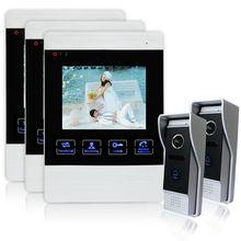 """Homefong  4 """" LCD Video Door Phone Doorphone Monitor Home Security Digital  Door Viewer Camera with Door Bell Night Vision"""