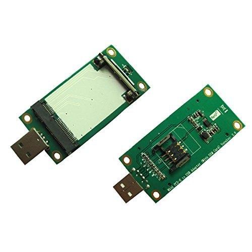 Mini PCI-E Wireless WWAN to USB Adapter Card with SIM Card Slot Module Testing Tools EP-092