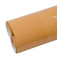 Car&Home Styling Wooden Grain Vinyl Film Decor Car Interior Film Automobiles Sticker Decals Air Release Bubble Free 1.24x3m