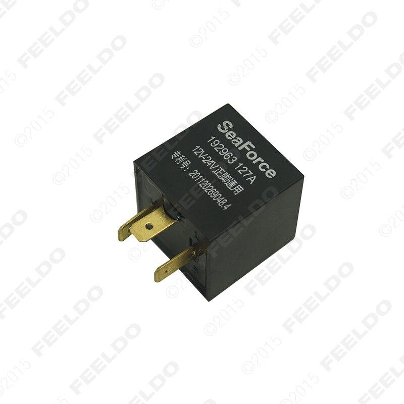 1 Unid 3 Coches Pin Electronic LED Flasher Relay Arreglar Luz de Señal de vuelta