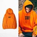 Laranja Propósito Toure Hoodies Com Lã Pessoal Com Capuz Camisolas Das Mulheres Dos Homens Justin bieber Streetwear Tamanho China