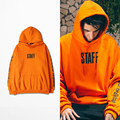 Orange Purpose Toure Hoodies With Fleece Staff Hoody Sweatshirts Men Women Justin bieber Streetwear China Size