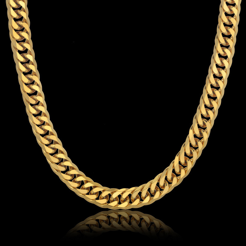 Popular Thick Gold Chain For Men Buy Cheap Thick Gold