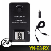 Yongnuo YN E3 RX E TTL LCD Display Wireless Flash Receiver for Canon Flashes 600EX RT and Commanders as ST E3 RT and YN E3 RT