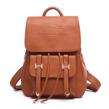Винтажные женские рюкзаки кожа Школьные сумки для подростков девочек ноутбук рюкзаки ежедневно рюкзаки рюкзак Mochila Feminina