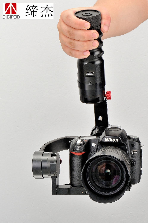 DIGIPOD new 360 3-axis yi action handheld camera gimball stabilizer gyro for mirrorless DSLR (GD-30D) горелка tbi sb 360 blackesg 3 м