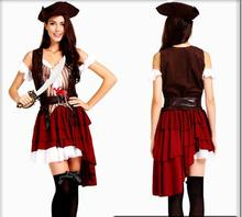 Pirate Costume For Women Adult Halloween Costumes Carnival Clothing Fancy Dress Caribbean Pirates Costume Masquerade цена в Москве и Питере
