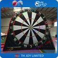 Double sides most durable 0.45mm pvc tarpaulin 6m/20ft inflatable dart game/inflatable soccer darts, inflatable foot dart board