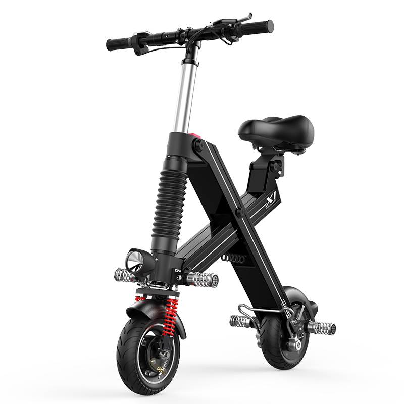 Free shopping Folding electric ebike on behalf of the mobile Scooter portable mini - adult lithium battery moving scooters original road n90 dual engine fhd panels tao n90fhd battery 7 4v 12000mah three lines on behalf of 3879138