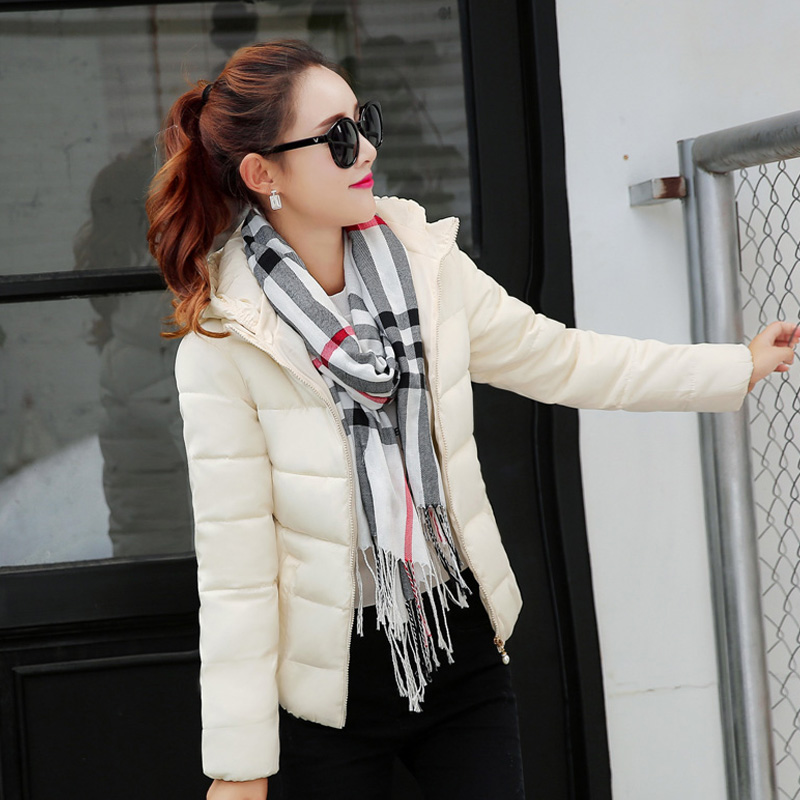 ФОТО TX1513 Cheap wholesale 2017 new Autumn Winter Hot selling women's fashion casual warm jacket female bisic coats
