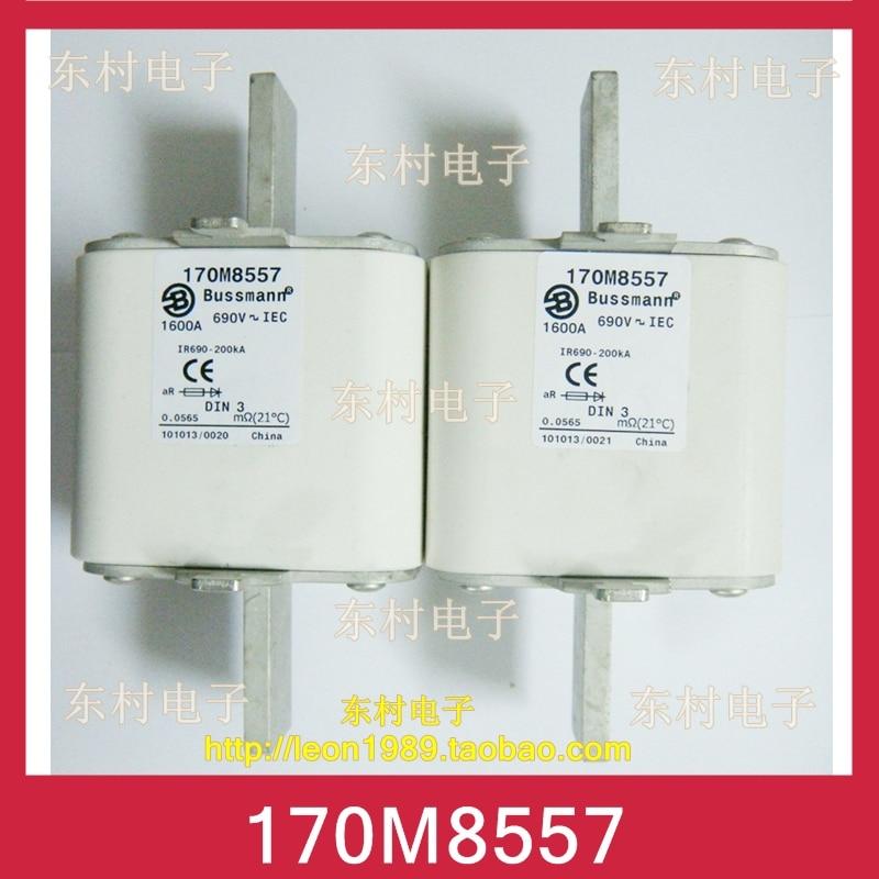 цена на [SA]US Cooper Bussmann Fuses 170M8557 170M8557D 1600A 690V fuse
