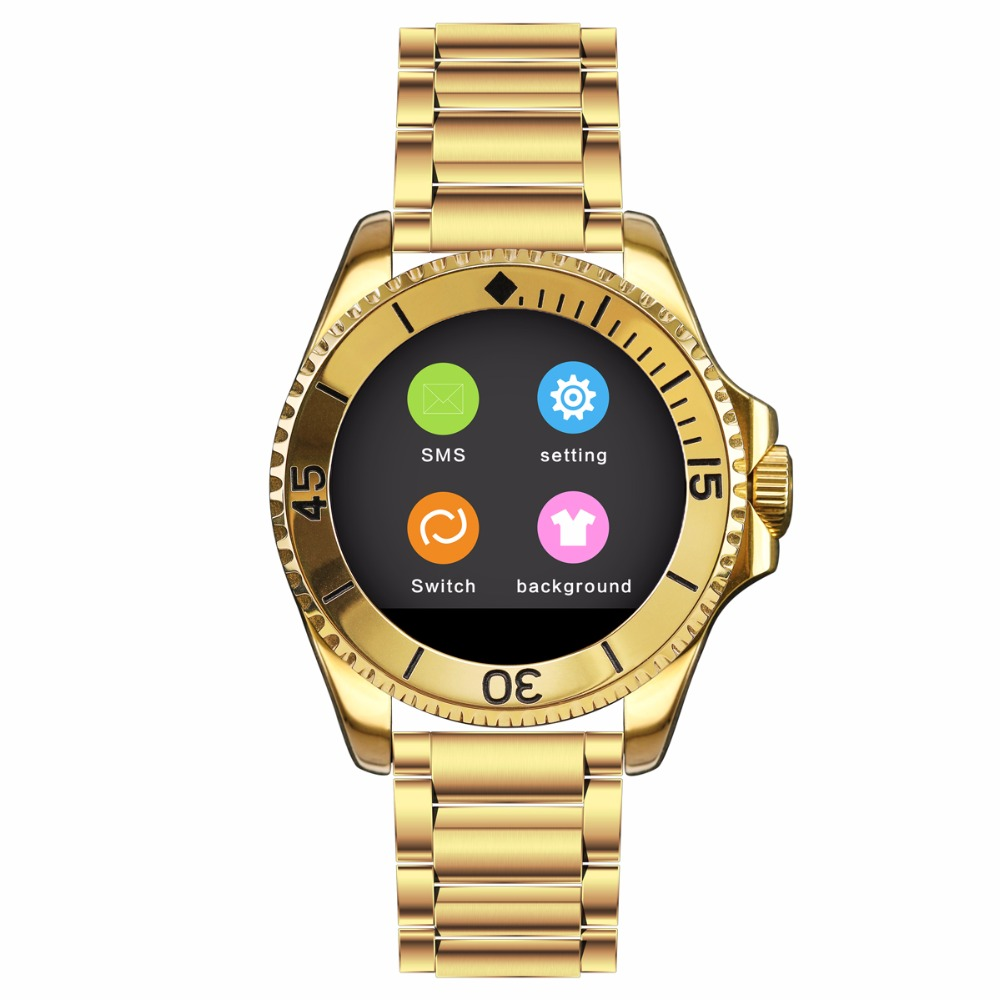 BINLUN Smart Watch Bluetooth Touch Screen Watch for iPhone Android Smartphone 2016 bluetooth smart watch gt08 for