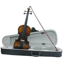 цена на IRIN 4/4 Full Size Natural Acoustic Violin Beech Fiddle with Protector Case Bow Rosin Strings Instrument For Beginner