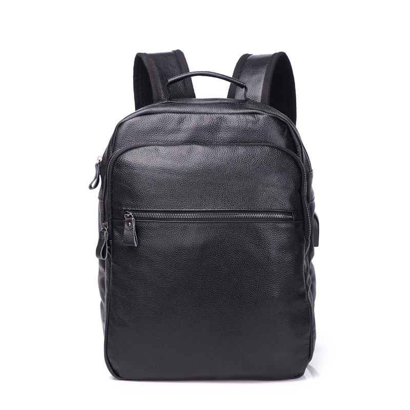 2018 New Style Hot Sale Men Genuine Leather Backpacks Male Fashion Laptop Computer Bag Student Travel Rucksack School Bags men genuine leather fashion travel university college school bag designer male coffee backpack daypack student laptop bag 1170c