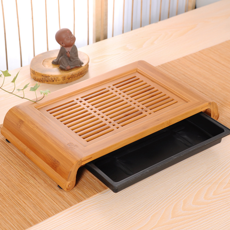 40 22 6cm Bamboo Tray Kungfu Tea Table Serving tray Bamboo Tea Table chinese tea set