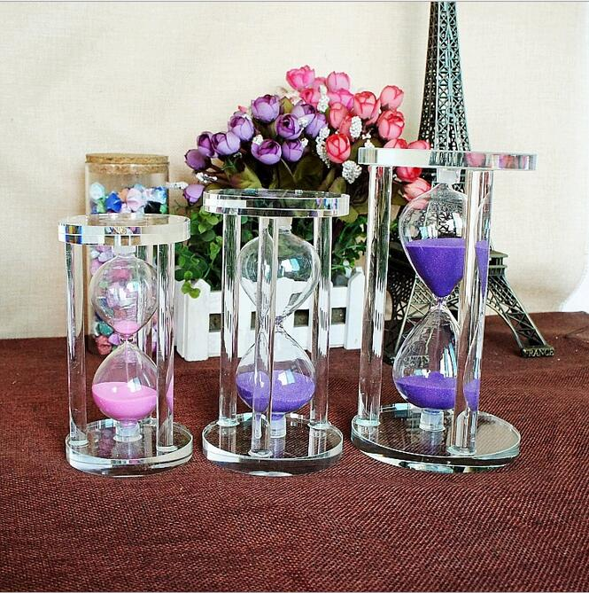 Hourglasses Clocks Creative Novelty Metal Tricycle Hourglass Decoration Timer Sandglass Toy Birthday Gift Wedding Sand Clock Home Ornament