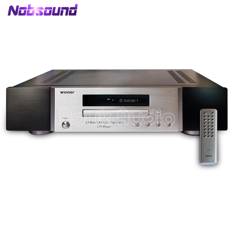 2018 Latest Nobsound Remote Hifi Multi-Function CD/HDCD/MP3 Player 24bit/384KHz AD1955 Decoding2018 Latest Nobsound Remote Hifi Multi-Function CD/HDCD/MP3 Player 24bit/384KHz AD1955 Decoding