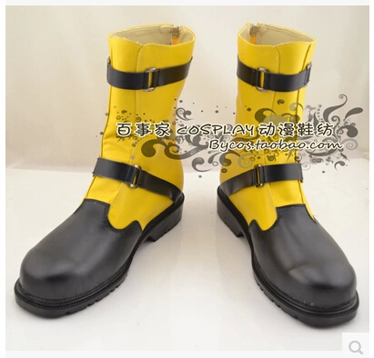 Free shipping! Hot Sale! Final Fantasy X 2 Shuyin Cosplay Boots Professional Handmade!