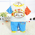 Newborn 2016 toddler baby boy&Girl clothing sets summer 2-piece outfits print t-shirt and pants Children Cheap Clothing