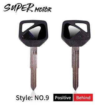 Черный пустой ключ Embryo Uncut для HONDA CBR600RR CBR1000RR CBR954 CBR600 F4 F4I CBF600 CBF1000 CBR600 CBR1000 Бесплатная доставка