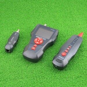 Image 5 - NF 8601 Многофункциональный тестер длины сетевого кабеля, тестер кабелей с ЖК дисплеем, тестер точки прерывания для RJ45, RJ11, BNC, PING/POE с CE