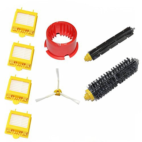 Vacuum Cleaner Accessory Hepa Filters Bristle Brush Flexible Beater Brush 3-Armed For iRobot Roomba 700 Series 760 770 780 790 flexible beater brush bristle brush for irobot roomba 500 600 700 series 550 630 650 660 760 770 780 790 vacuum cleaner parts