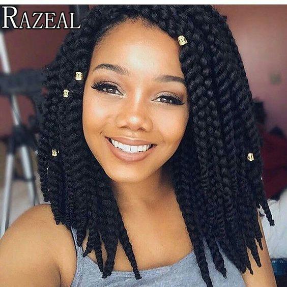 Zazeal Hair 14 Box Braid Bob Hair 75gpack 3s Freetress Crochet