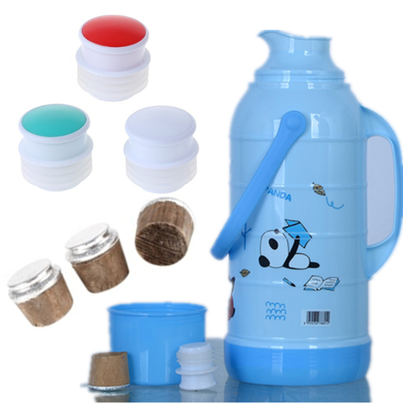 3pieces Cork For Thermos  Thermos Cork Thermos Plastic Corks Food Grade Silicone Stoppers And Cup Accessories
