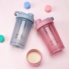 Протеиновый шейкер портативная бутылка для воды с движением
