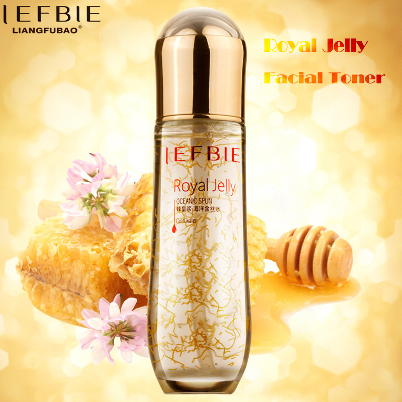 Gold Face Lift Cosmetic Toner Liquid Skin Care Anti Wrinkle Moisturizing Whitening Royal Jelly Essence Facial Makeup Serum 100ml free shipping placentin liquid moisturizing anti wrinkle anti aging skin care products cosmetics oem