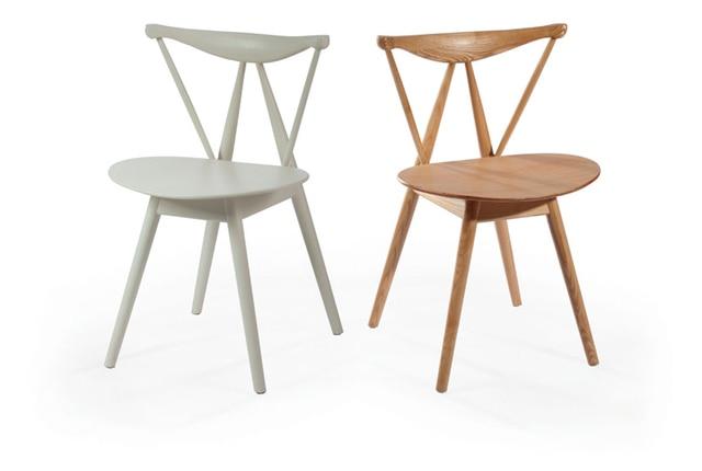 Eetkamer meubels massief houten side stoel eetkamer houten stoel