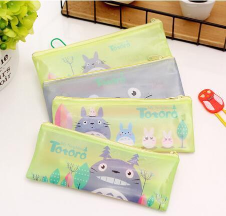 Estuche de lápices bolso de escuela gatito encantador suministros Kawaii Bts papelería regalo Escuela y oficina Linda caja de lápices bolsa de cosméticos