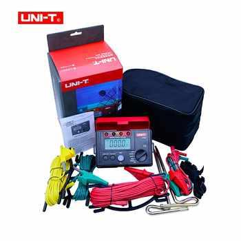 UNI-T UT522 พื้นดินดิจิตอล 0-400V 0-4000 โอห์ม AC เครื่องทดสอบความต้านทานฉนวนข้อมูล HOLD & จอแสดงผล LCD Backlight
