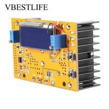 CC CV fuente de alimentación reductor módulo ajustable 10A DC-DC convertidor módulo regulador de voltaje convertidor Buck 7V-36V a 1,5-35V