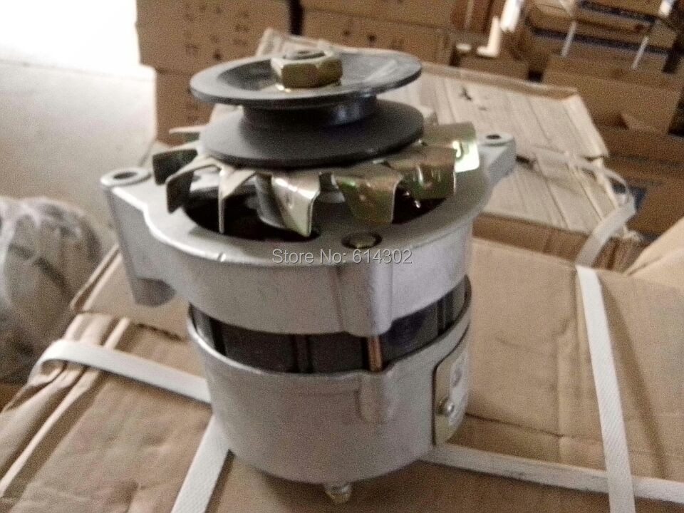 alternator for weifang 495/4100 diesel engine spare parts for sale weifang 495 k4100 r4105 r6105 diesel engine and diesel generator parts 12v 24v stop solenoid for sale