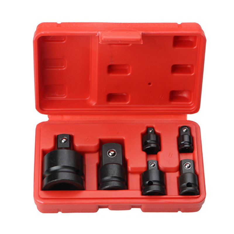 Hot 6Pcs Mini Socket Wrench Hand Tool Set 1/4 1/2 3/8 3/4 Ratchet Breaker Drive Spanner Set Pneumatic Sleeve Adapter WrenchHot 6Pcs Mini Socket Wrench Hand Tool Set 1/4 1/2 3/8 3/4 Ratchet Breaker Drive Spanner Set Pneumatic Sleeve Adapter Wrench